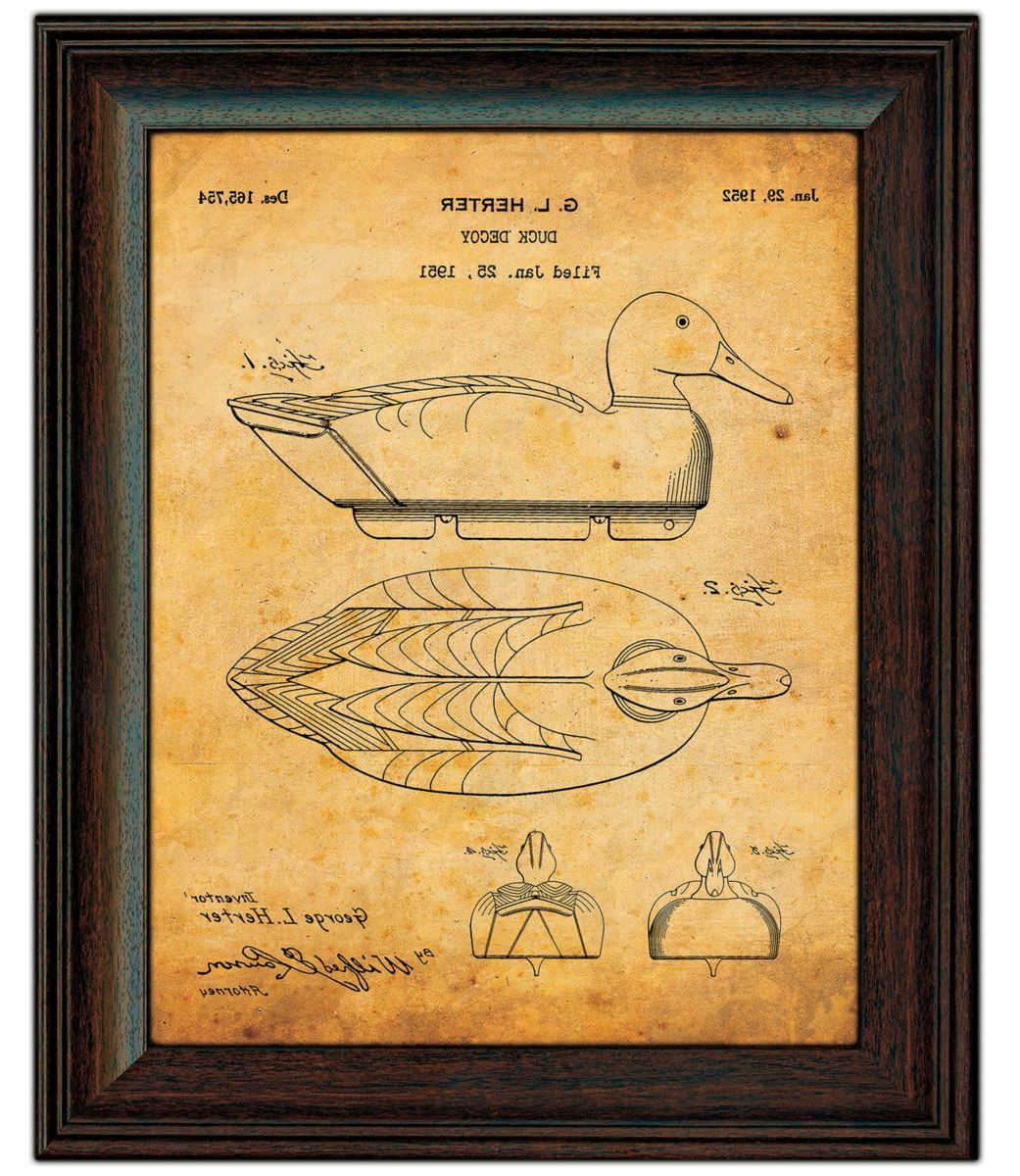 Kennedy Vintage Duck Hunter Two-Piece Patent Set