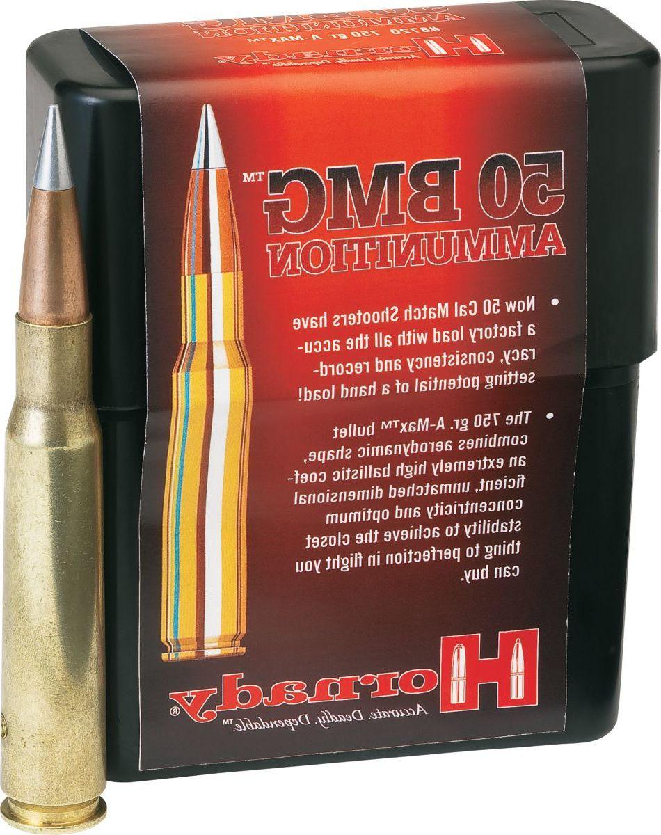 Hornady® .50-Cal. BMG Ammunition