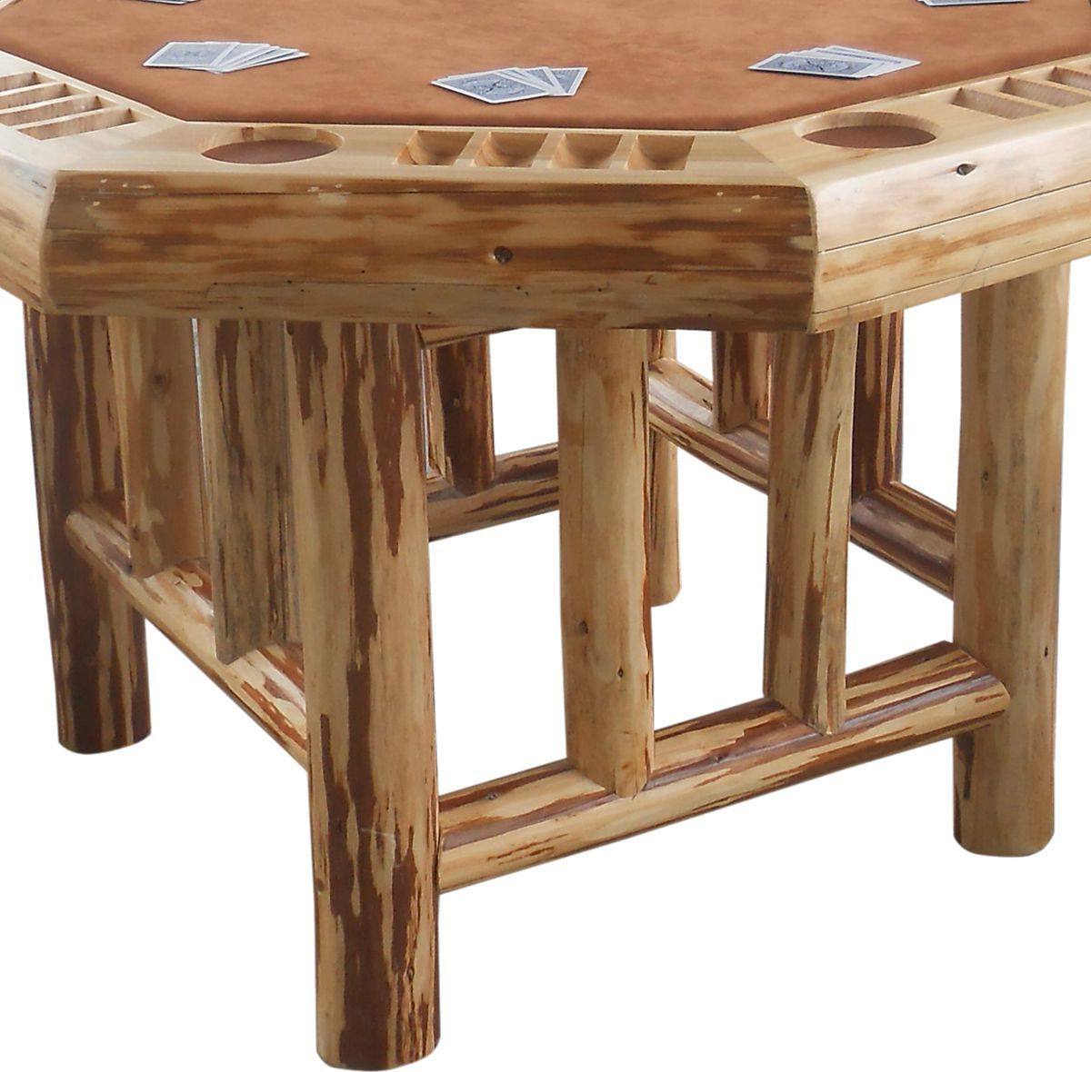 Rush Creek Octagon Poker Table