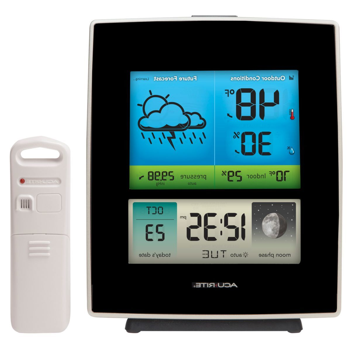 AcuRite® Weather Station with Color Display – Black