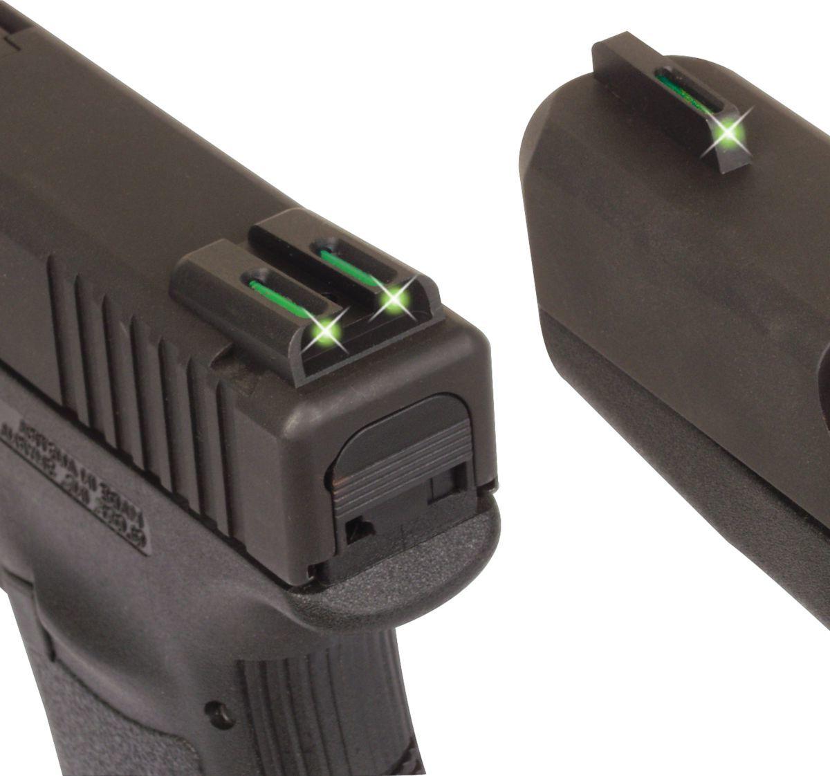 TRUGLO® Tritium Fiber-Optic Pistol Sights