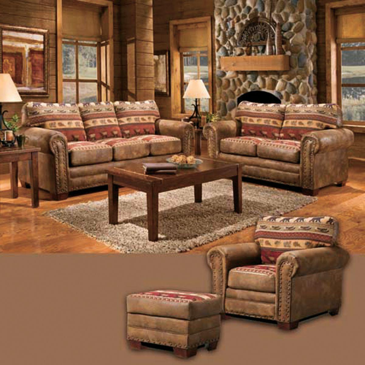 American Furniture Classics Sierra Lodge Four-Piece Set