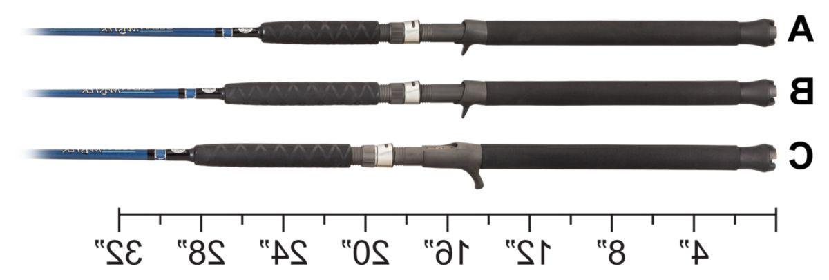 PENN® Fathom Lever Drag/Offshore Angler™ Ocean Master® Freestyle Jigging Combo
