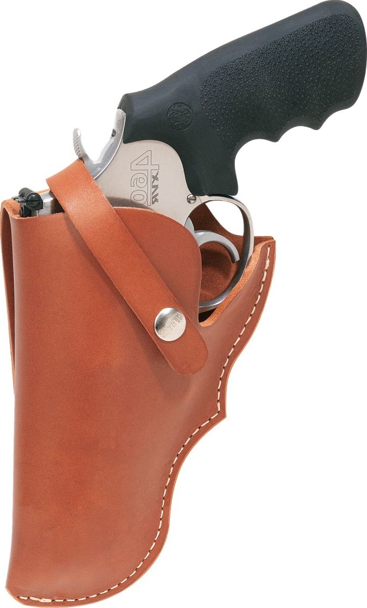 """Hunter Company Smith & Wesson® 500 Leather Belt Holster – 4"""""""