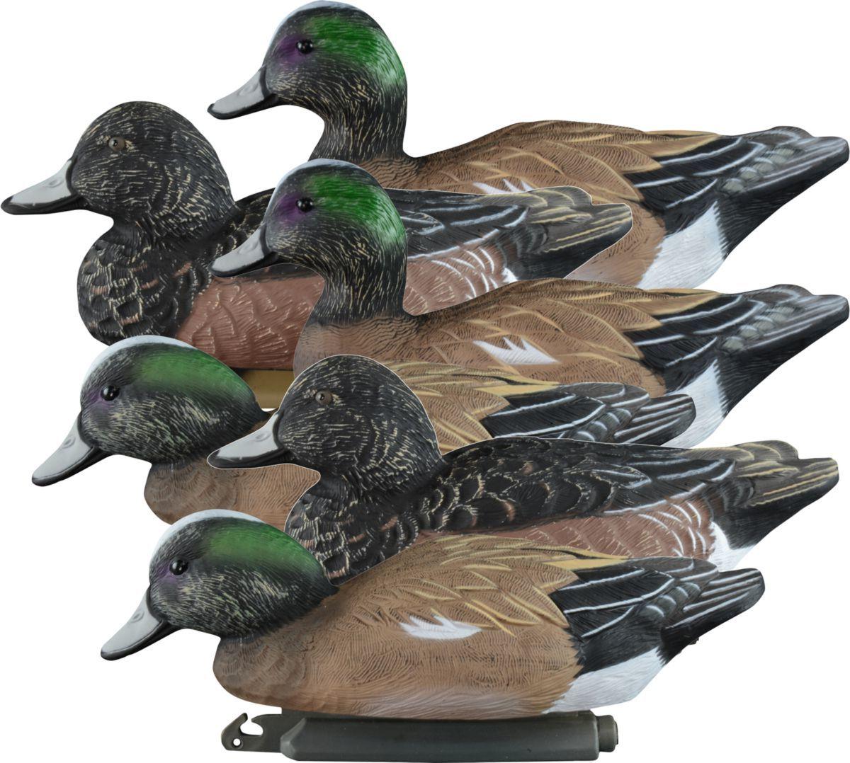 Higdon Outdoors Standard Widgeon Duck Decoys – Six-Pack