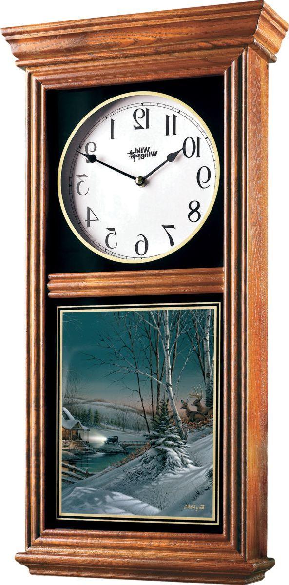 Wild Wings® Regulator Clock – Evening with Friends