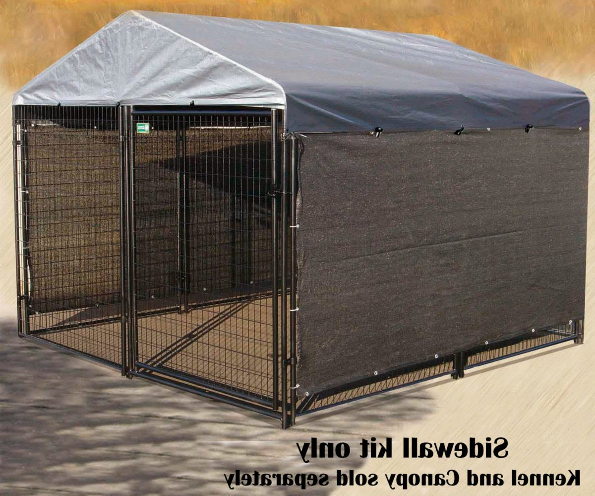 Lucky Dog Wind-Screen Side Kennel Cover Kits