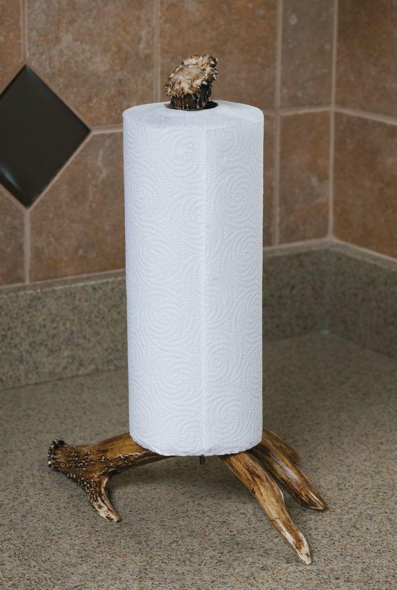 Faux-Antler Paper Towel Holder