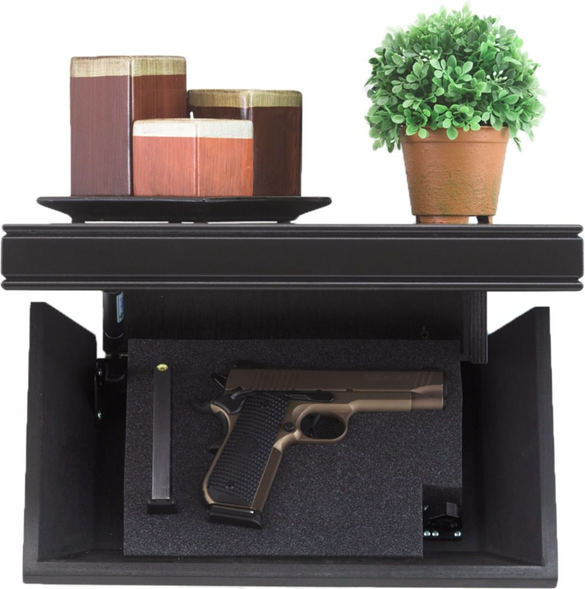 Tactical Walls 812 Pistol-Length Shelf