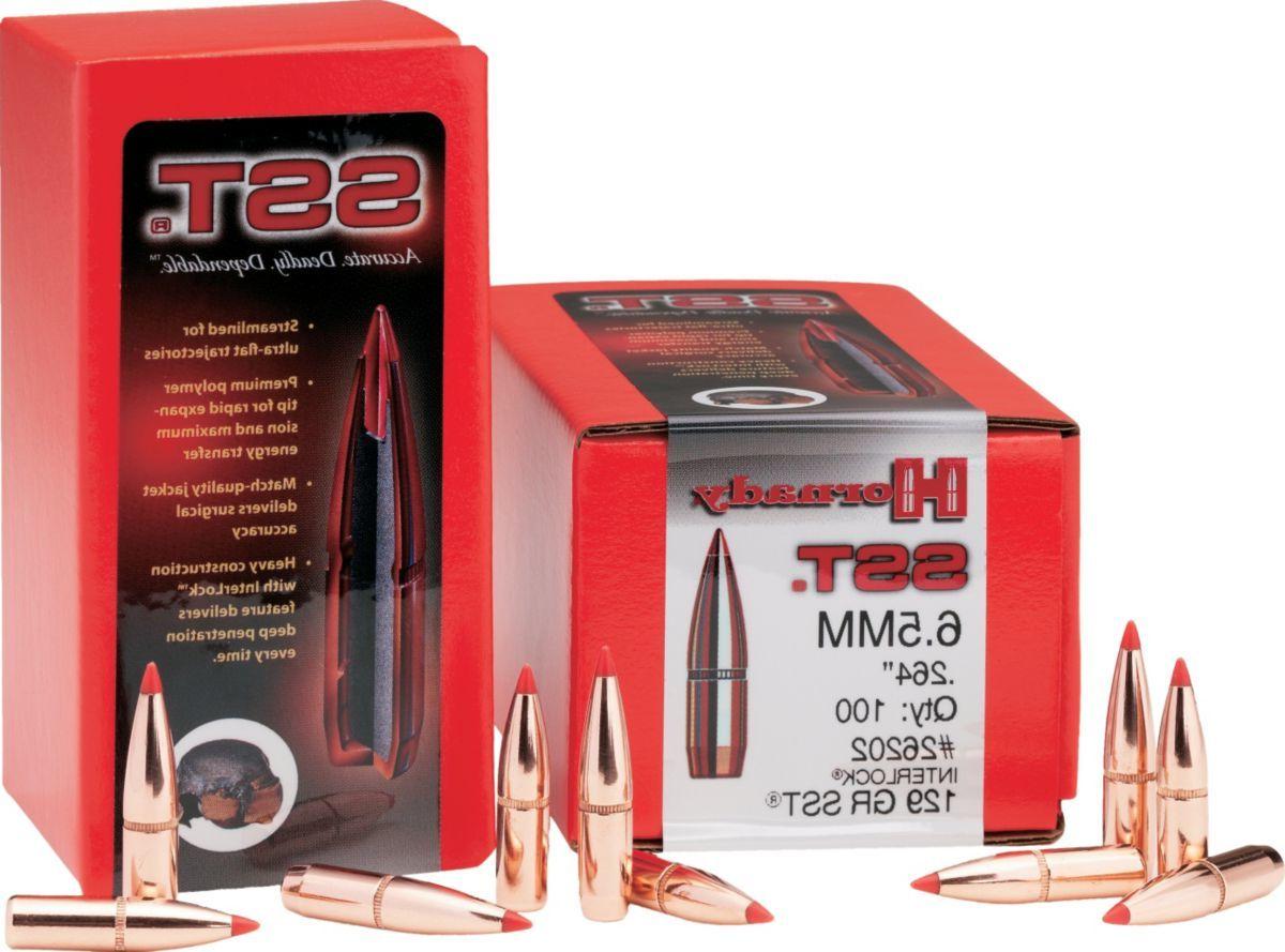 "Hornady® BTHP Match™ 6.5mm./.264"" Dia. Rifle Bullets"