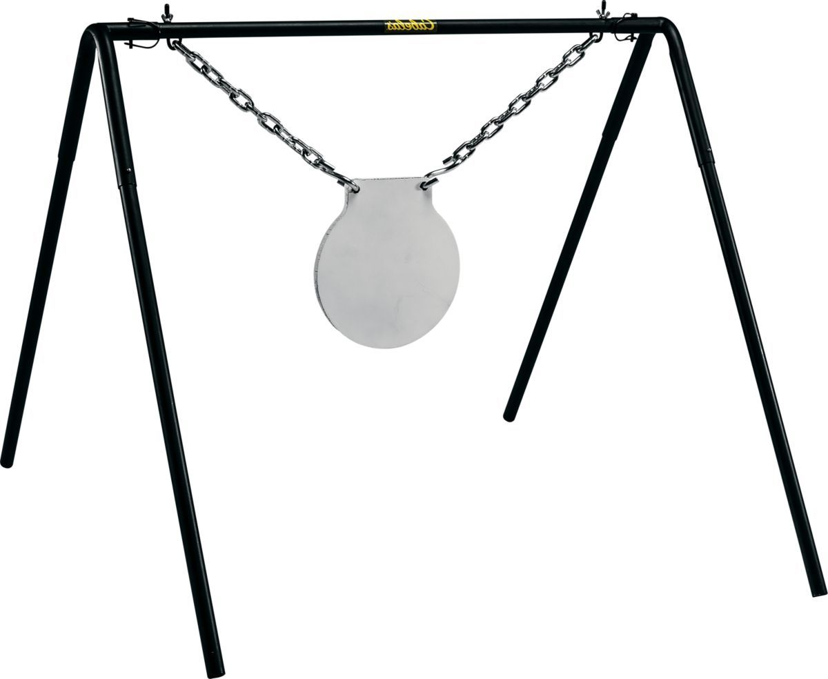 """Cabela's 10"""" Rifle Gong Target with Stand"""