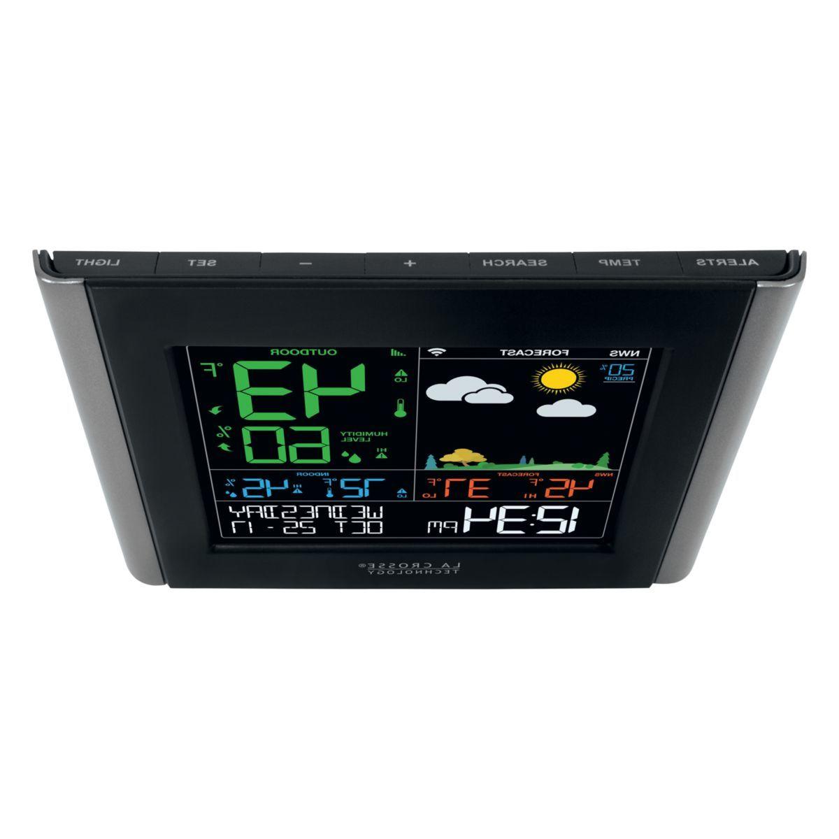 La Crosse Technology® Wi-Fi Remote Monitoring Color Weather Station