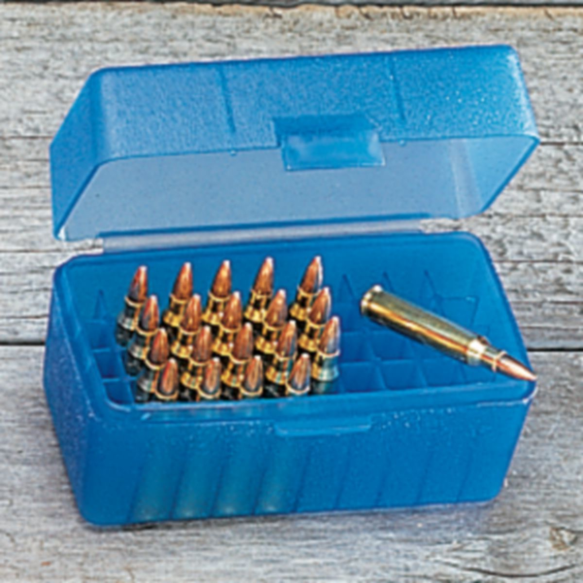 MTM Case-Guard R-50 50-Round Flip-Top Rifle-Ammo Boxes