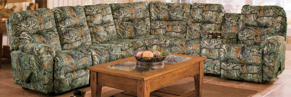 Best Home Furnishings Bodie Camouflage Sectional