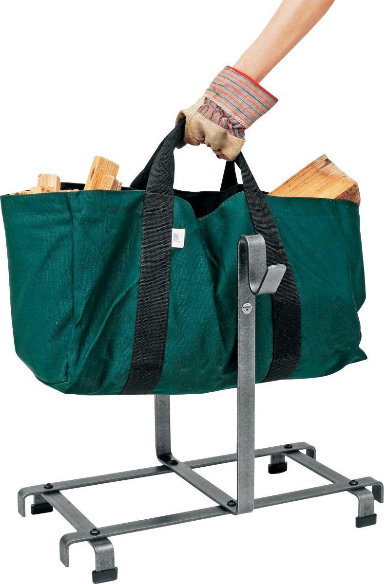 Carrier Bag Log Rack