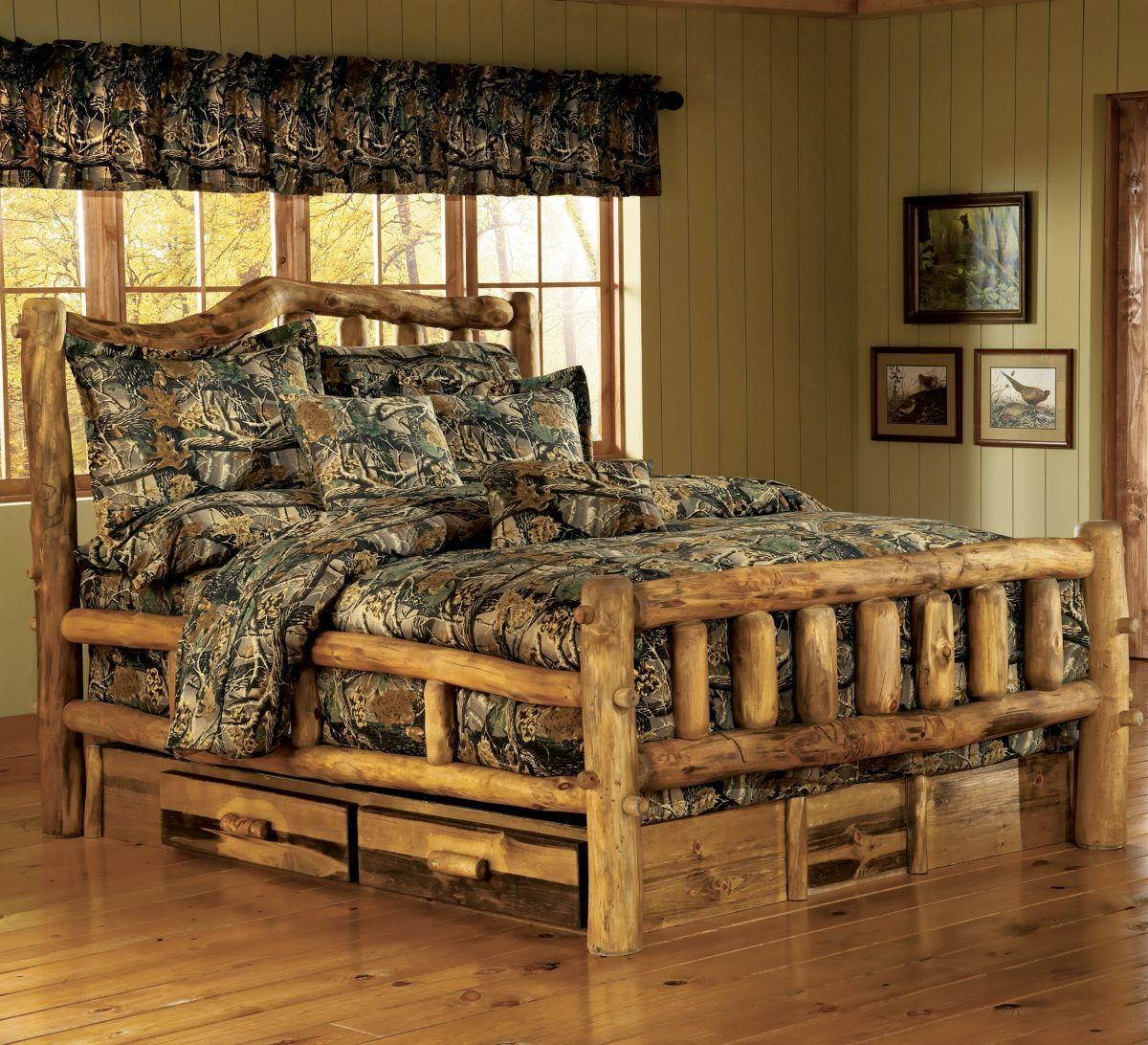 Mountain Woods Furniture® Bronze Aspen Series Snowload Beds