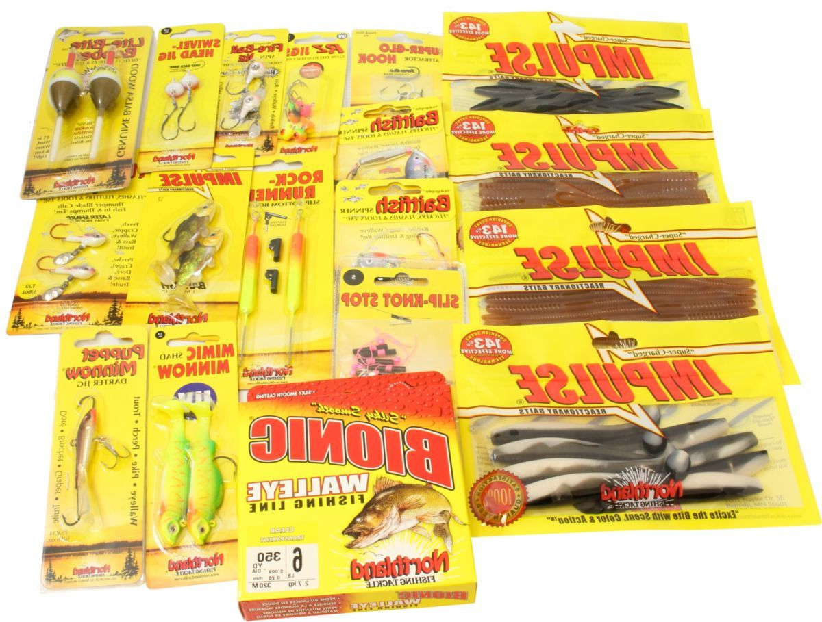 Northland® Up-North Pro Walleye Assortment