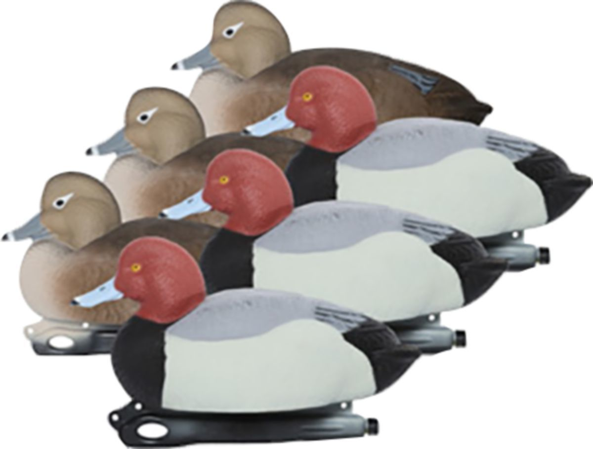 Hard Core Elite Series Foam-Filled Redhead Duck Decoys – Six-Pack
