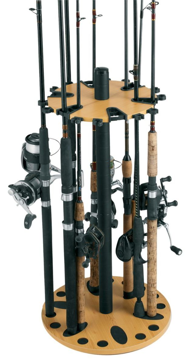 Rush Creek 24-Rod Spinning Rack