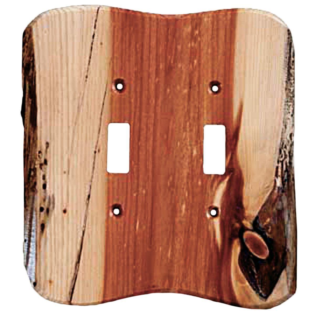 Rustic Juniper Electrical Covers