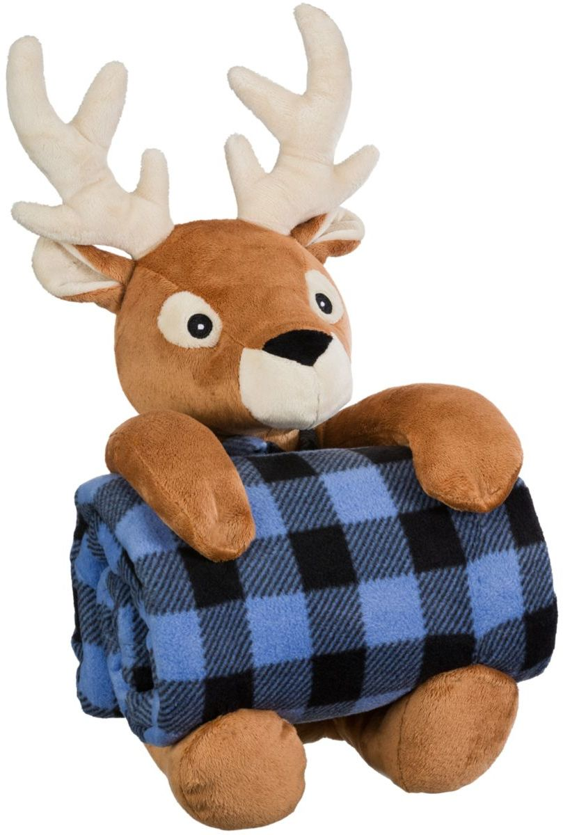 Bass Pro Shops® Stuffed Animal with Fleece Blanket