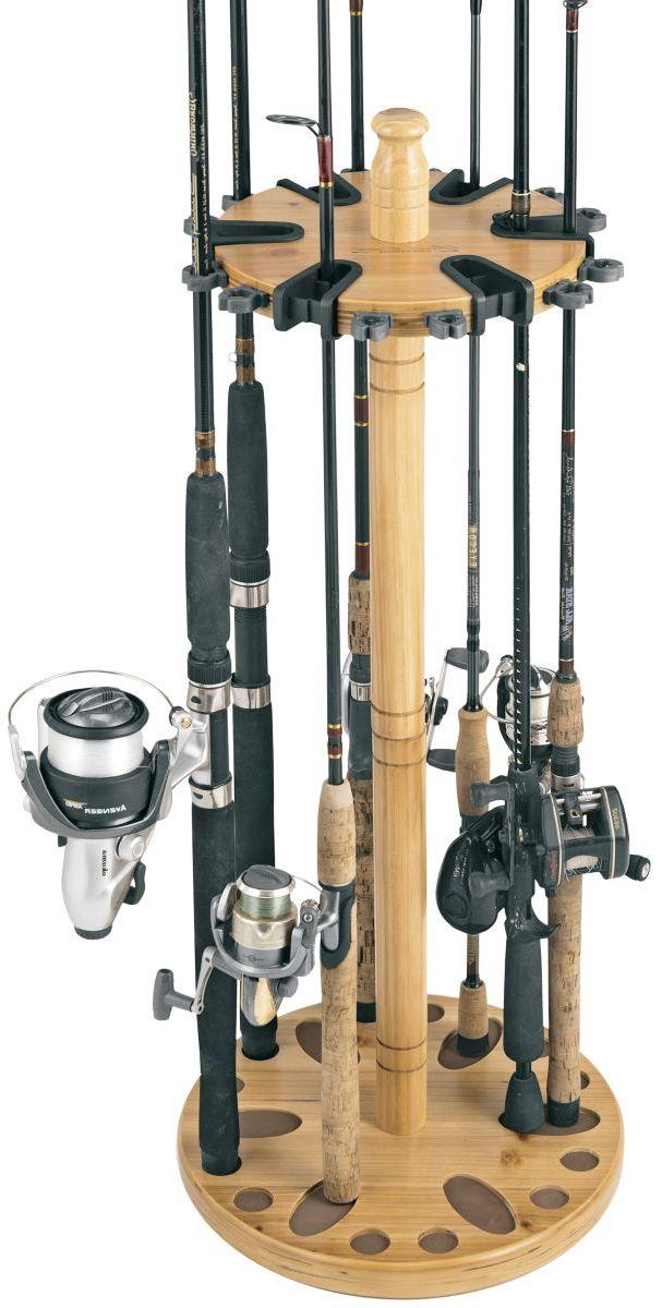 Rush Creek 24-Rod Round Rack