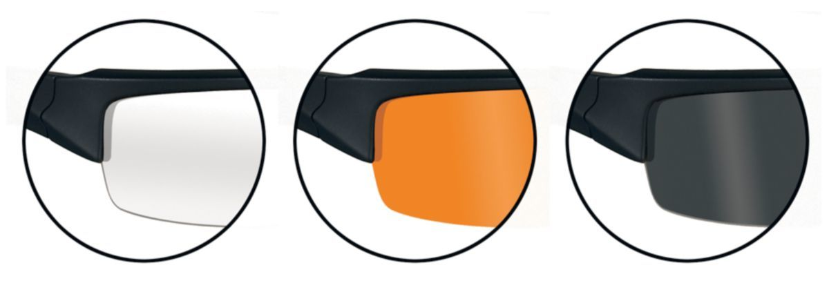 Wiley X Valor Shooting Glasses