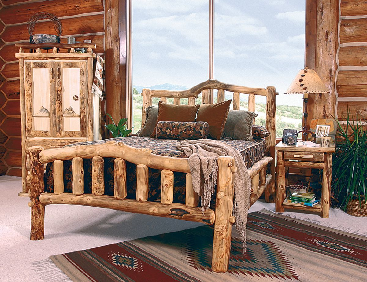 Mountain Woods Furniture® Snowload II Bed