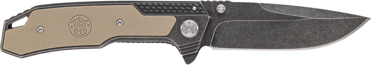 Smith & Wesson® 609 G10 Stonewash Folding Knife
