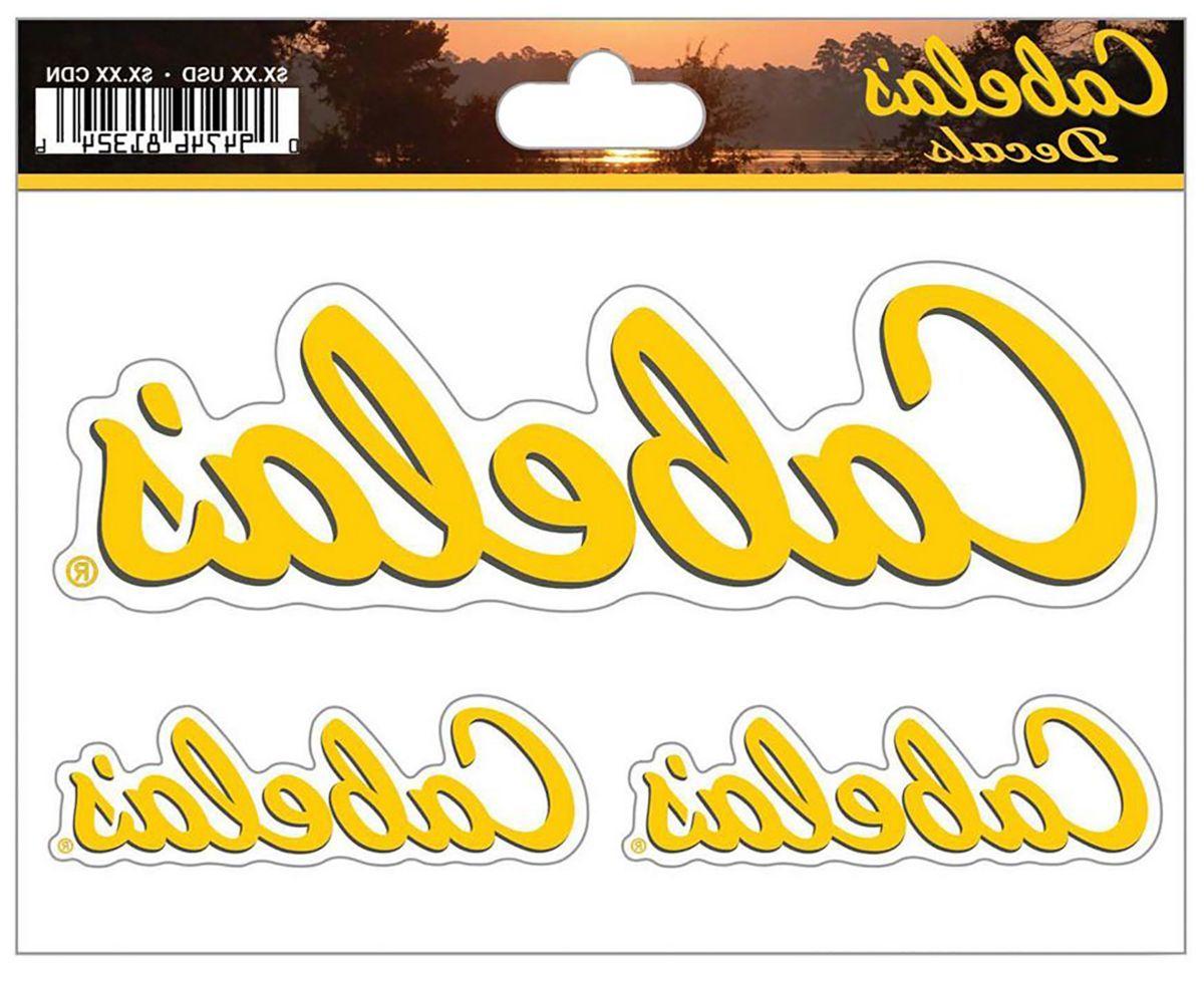Cabela's Logo Die-Cut Vinyl Window Decals