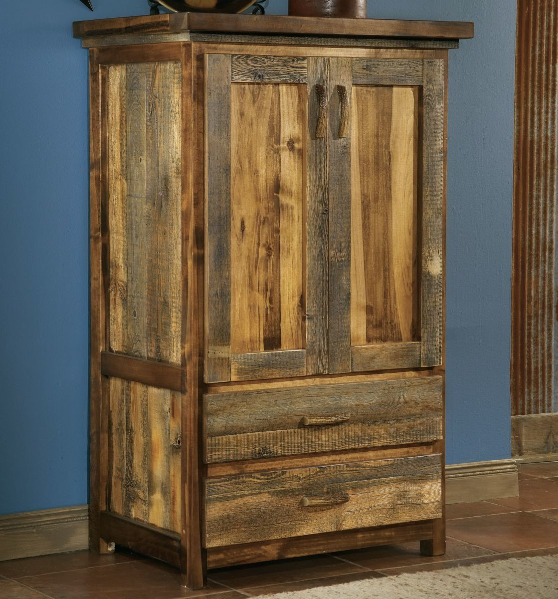 Mountain Woods Furniture® Wyoming Collection™ Two-Drawer Armoire
