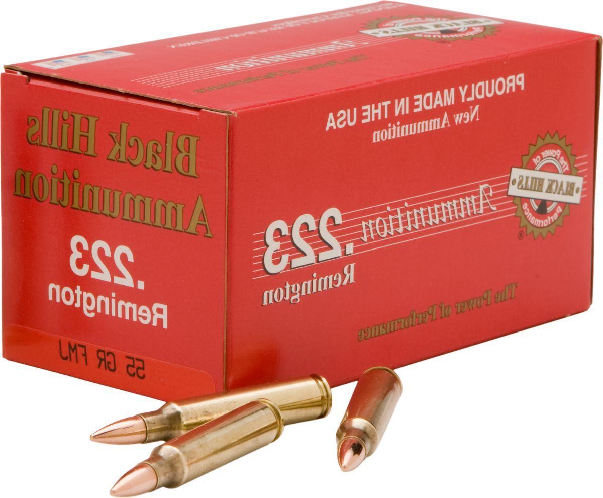 Bulk Black Hills .223 Remington® Ammunition – 55-Grain FMJ – Per 500
