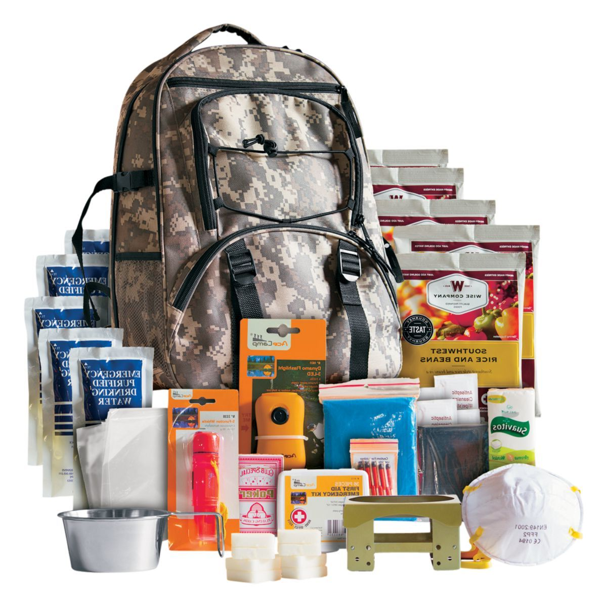 Wise Company Five-Day Survival Backpack