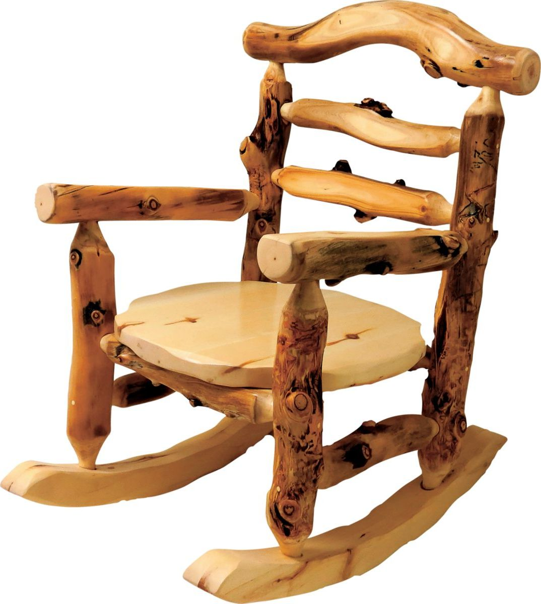 Mountain Woods Furniture® Aspen Grizzly Rocking Chair