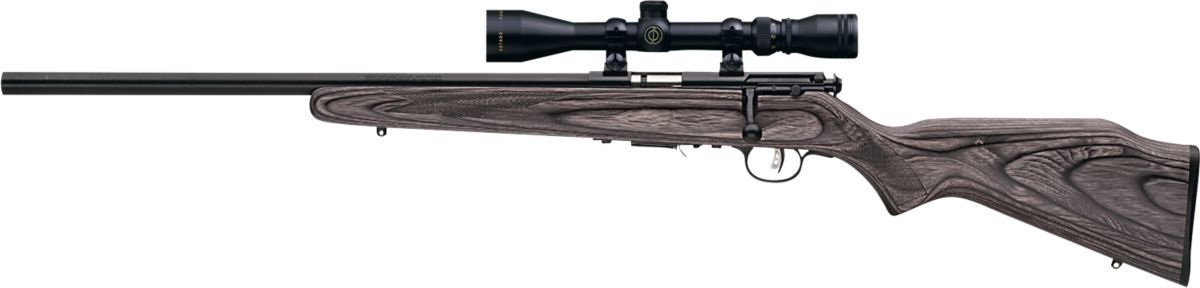 Savage® Arms Mark II .22 LR and 93R .17 HMR Bolt-Action Rimfire Rifles with AccuTrigger™ and Weaver® 3-9x40 Scope Combos