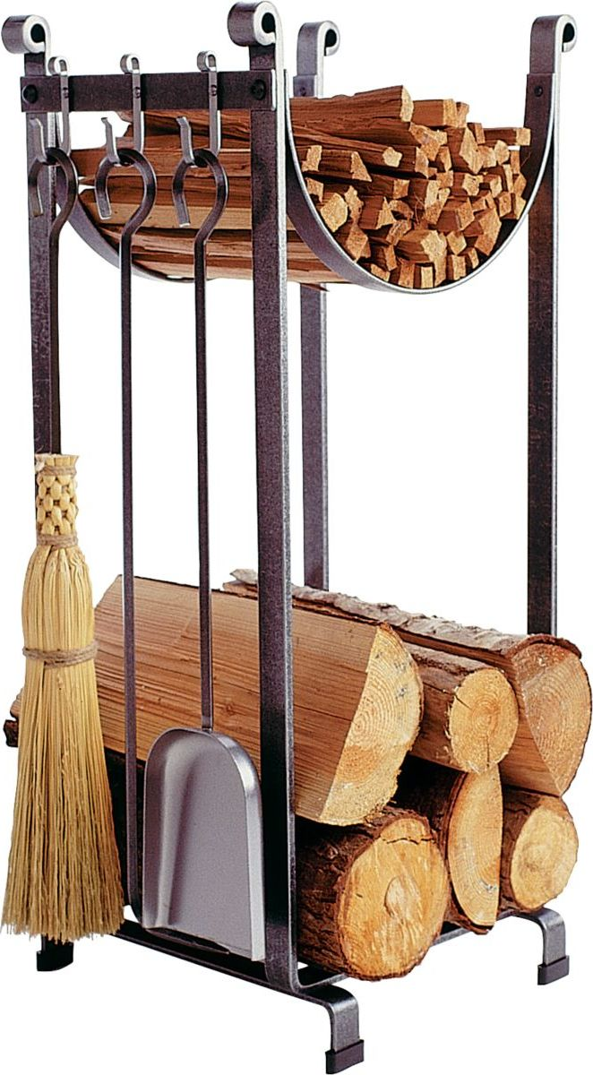 Enclume Hearth Sling Log Rack with Tools