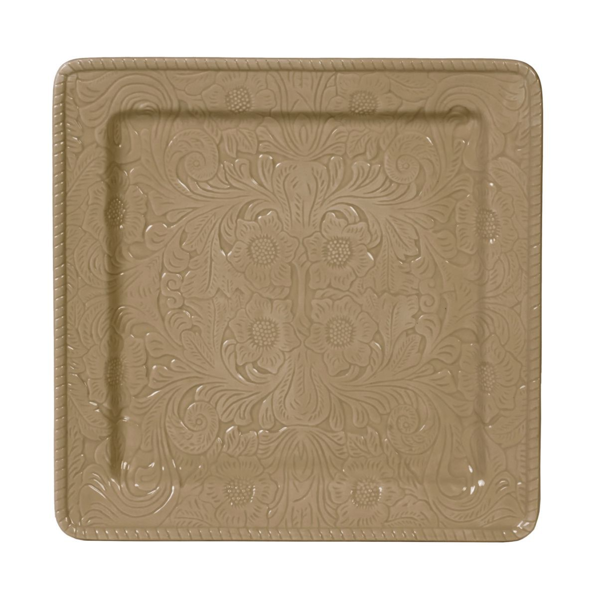 HiEnd Accents Savannah Taupe Serving Platter