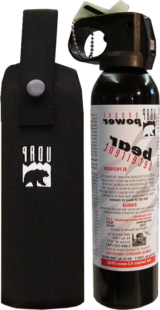 UDAP #15 CP Magnum Bear Spray with Chest Holster