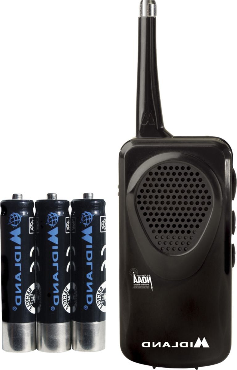 Midland® Pocket Weather Alert Radio