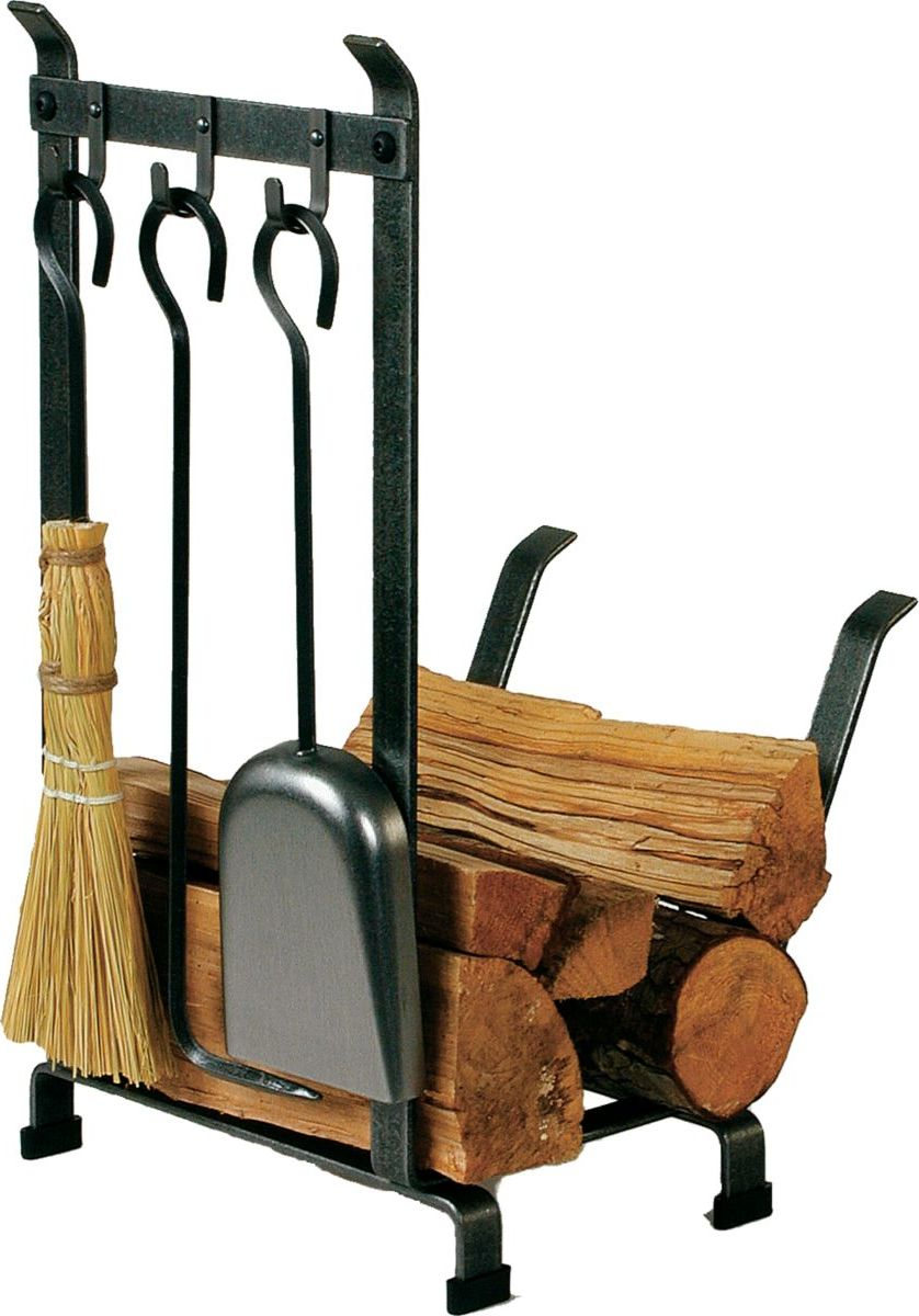 Enclume Hearth Country Home Log Rack with Tools