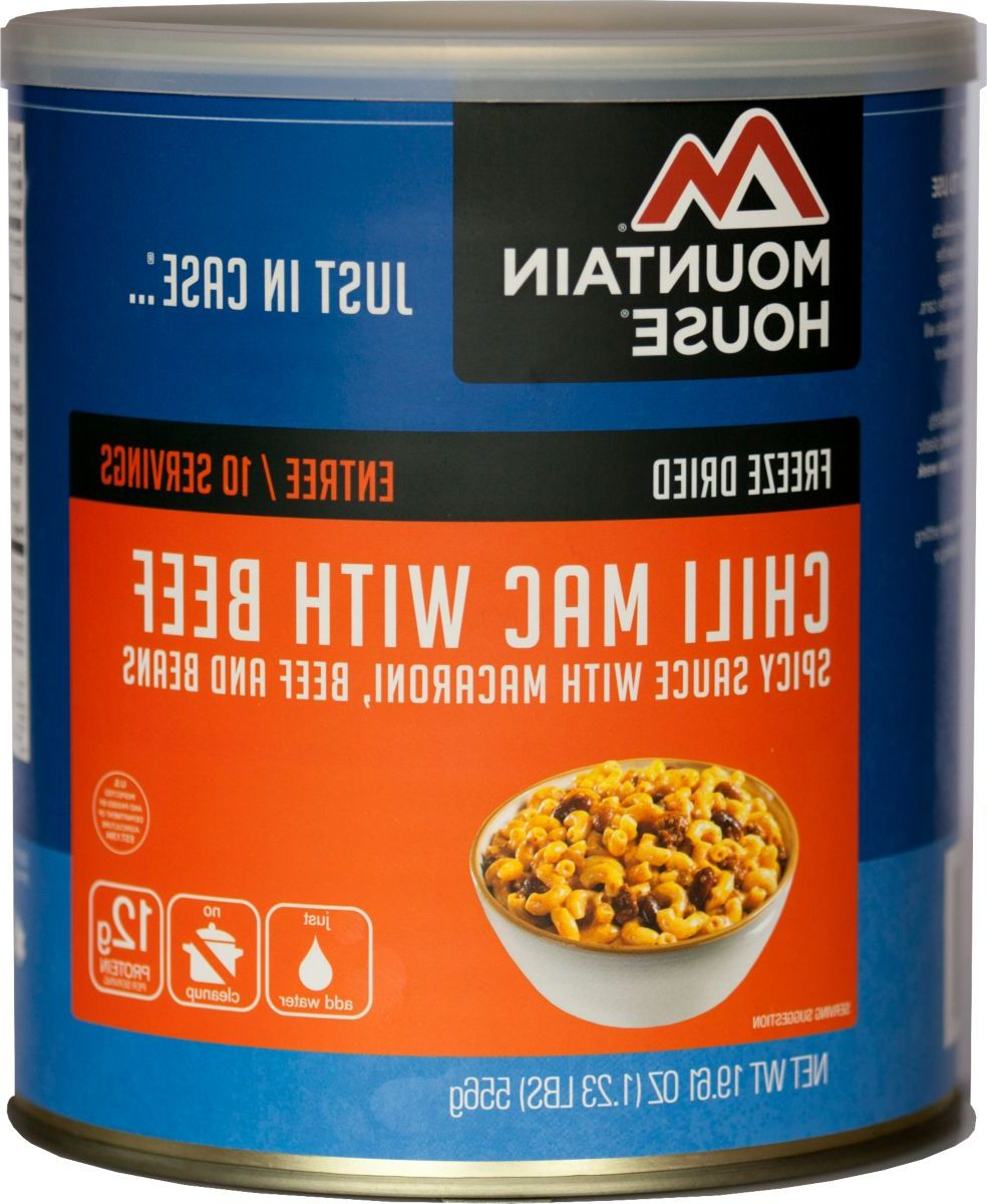 Mountain House® Bulk Freeze-Dried Foods – Chili Mac with Beef