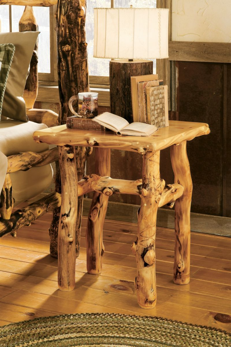 Mountain Woods Furniture® Aspen Grizzly Nightstand