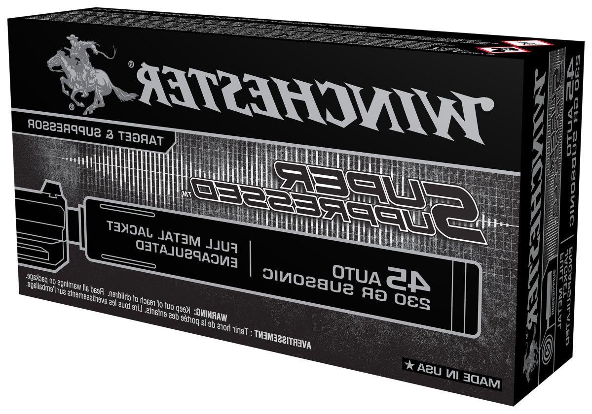 Winchester® Super Suppressed™ Handgun Ammo