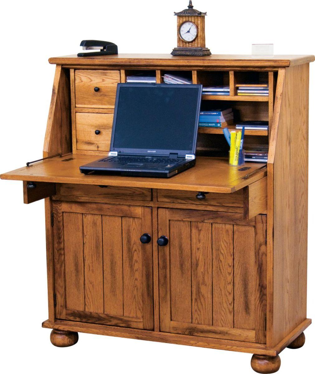 Sunny Designs Sedona Drop-Leaf Laptop Desk