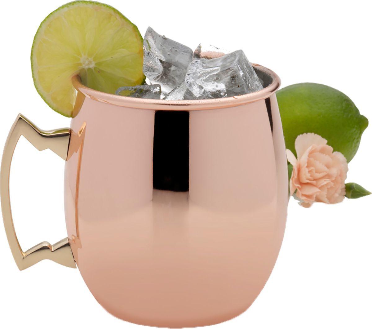 Lifetime Brands Copper Plated Mule Mug