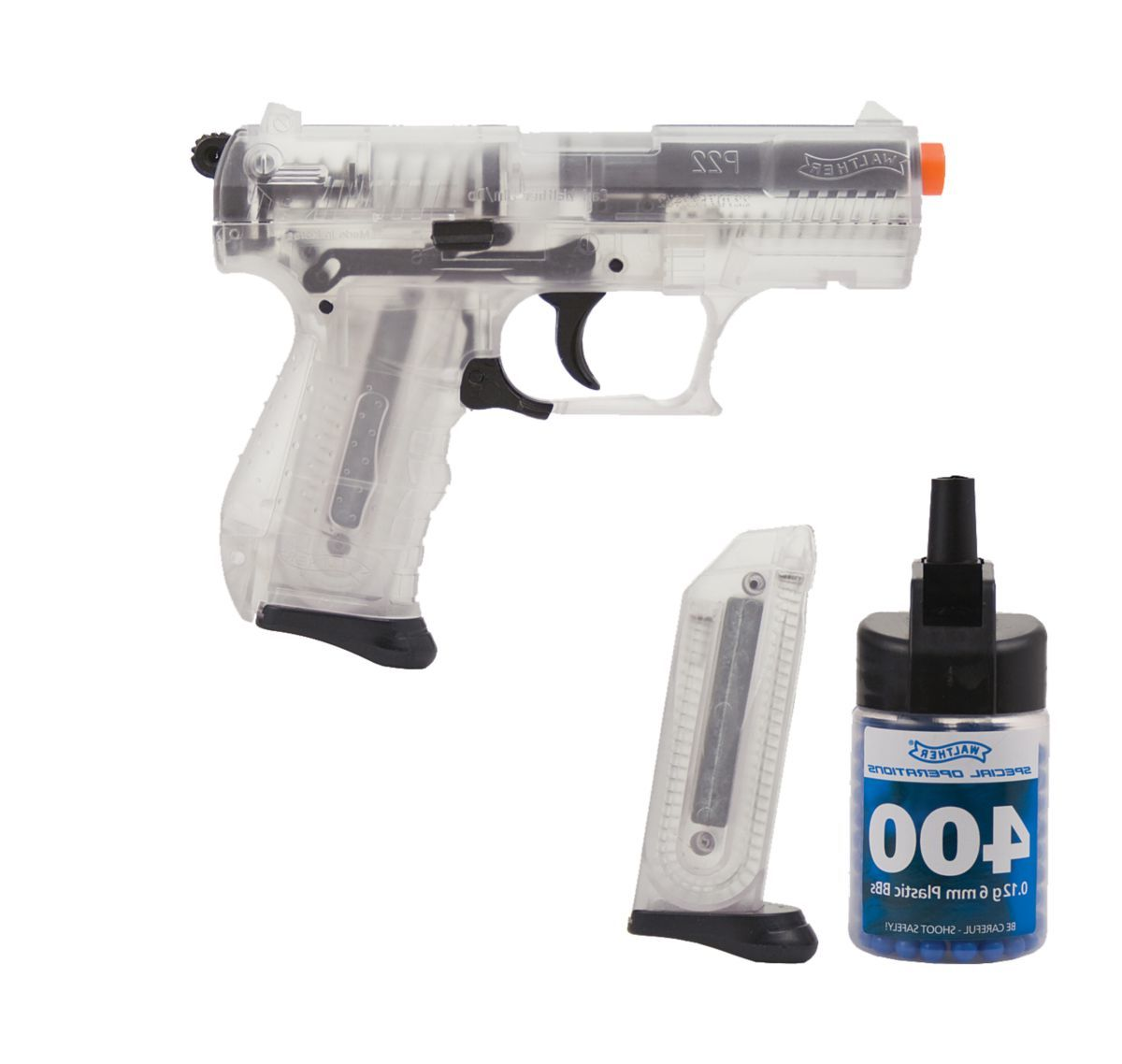 Walther P22 Clear Airsoft BB Pistol