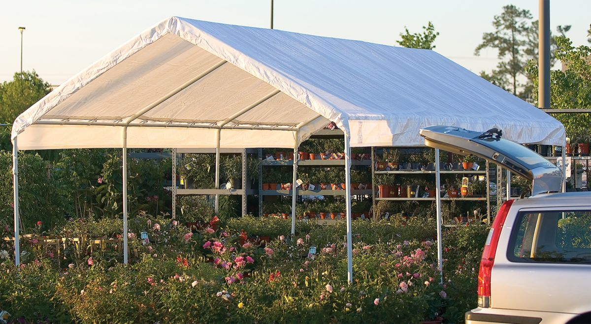 ShelterLogic® Max AP™ Canopy 10-ft. x 20-ft. – Eight Legs