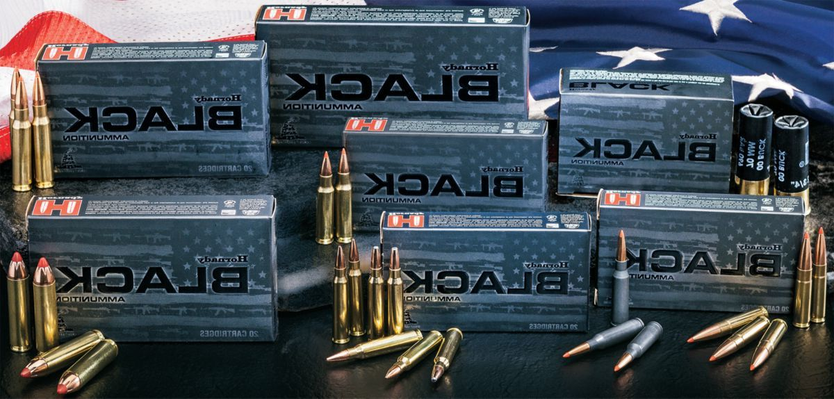 Hornady® Black Ammunition