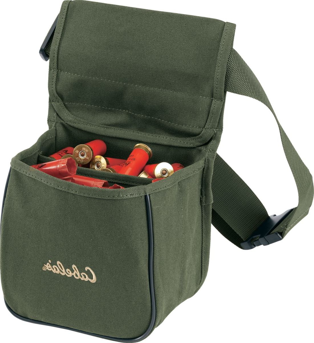 Cabela's Canvas Divided Shell Pouch