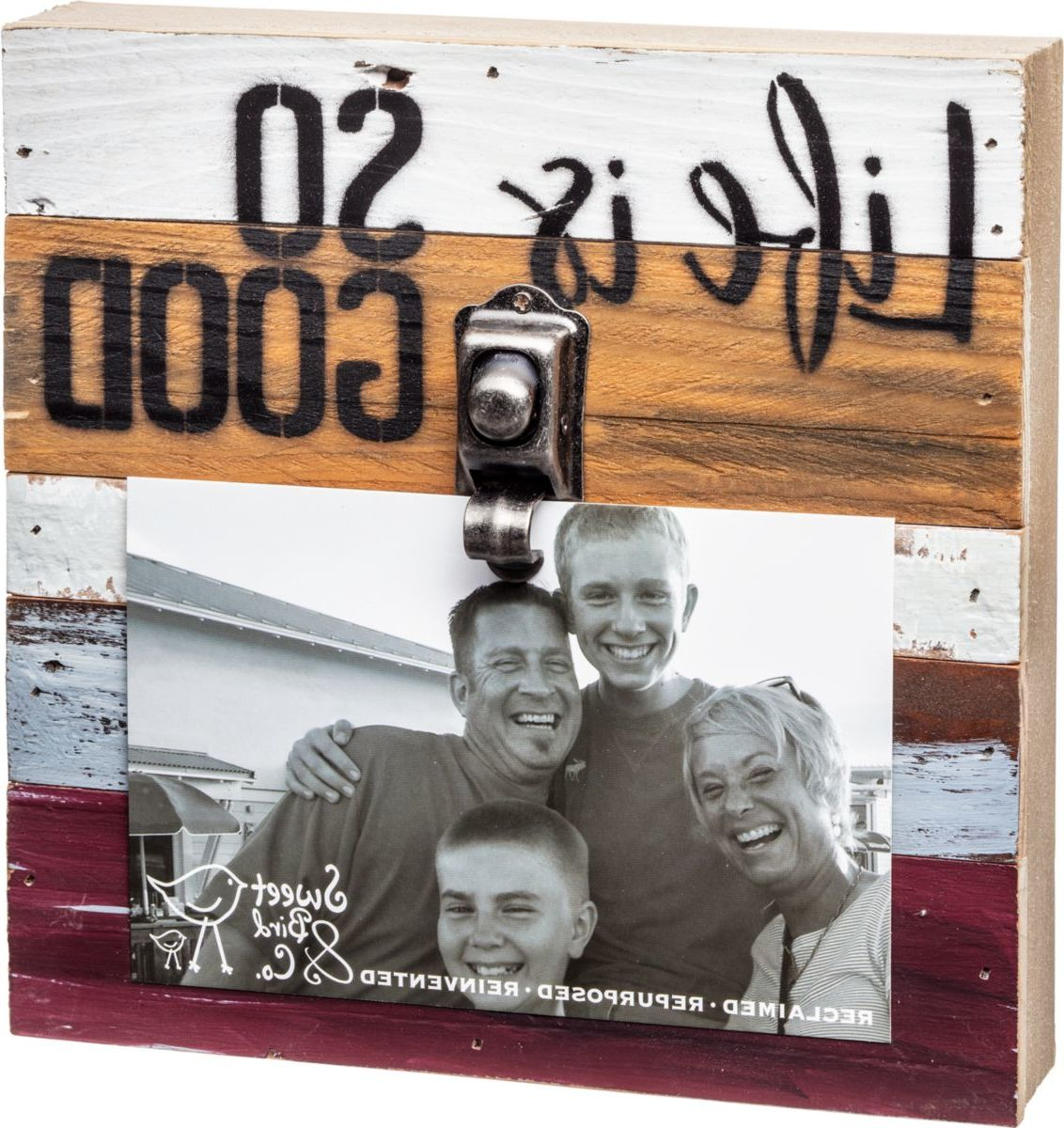 "Sweet Bird Clip Picture Frame – 8"" x 8"""